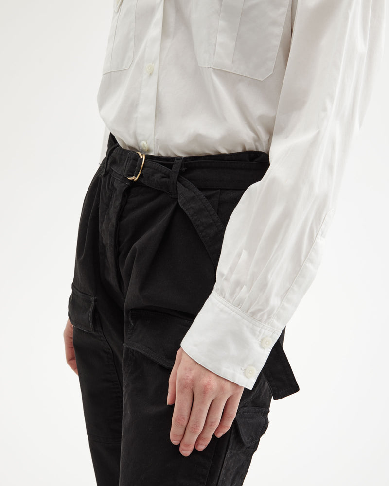 Declan Pant in Black by Nili Lotan