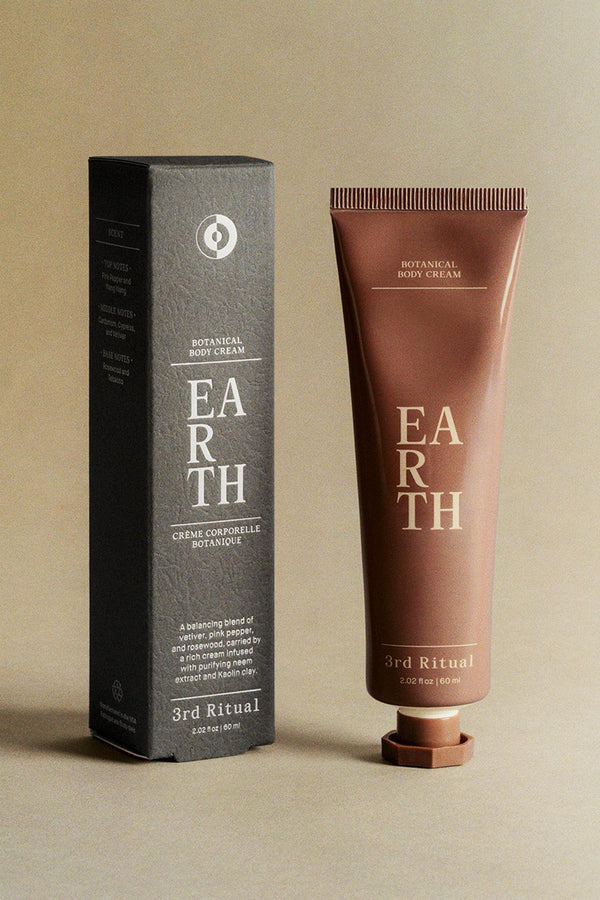 EARTH, body cream | 3rd Ritual
