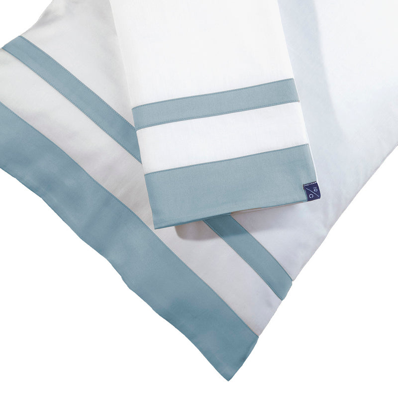 The Hudson Sheet Set in Blue