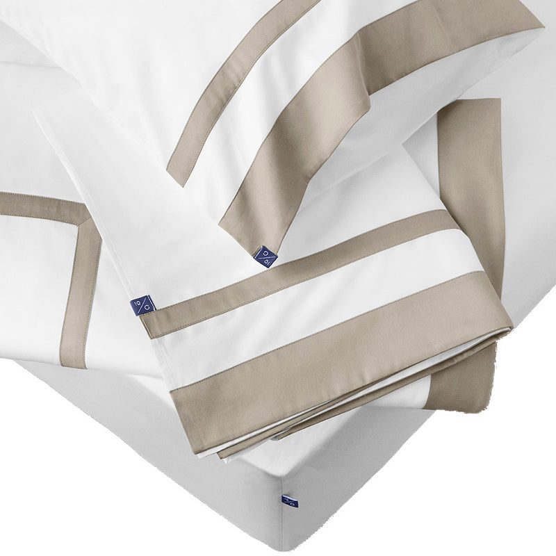The Hudson Sheet Set in Beige | 10 Grove