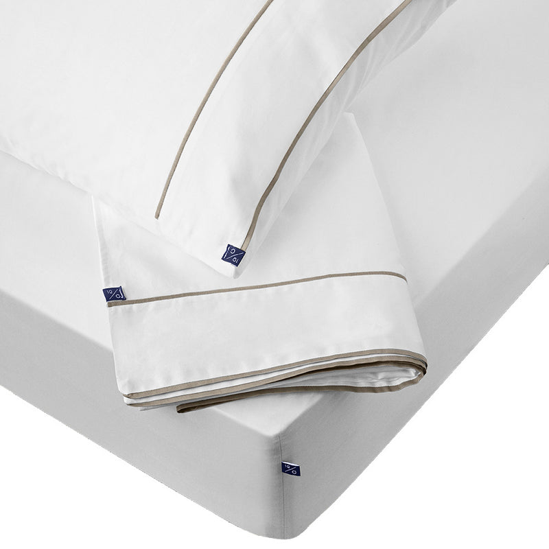 The Irving Sheet Set in Beige