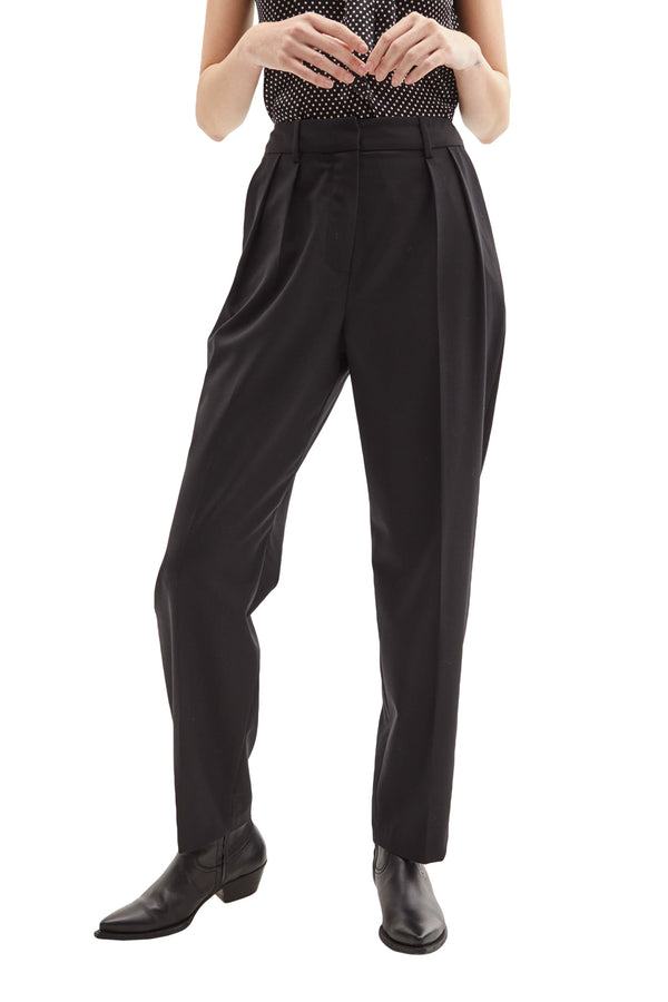 High waisted black trousers from Nili Lotan