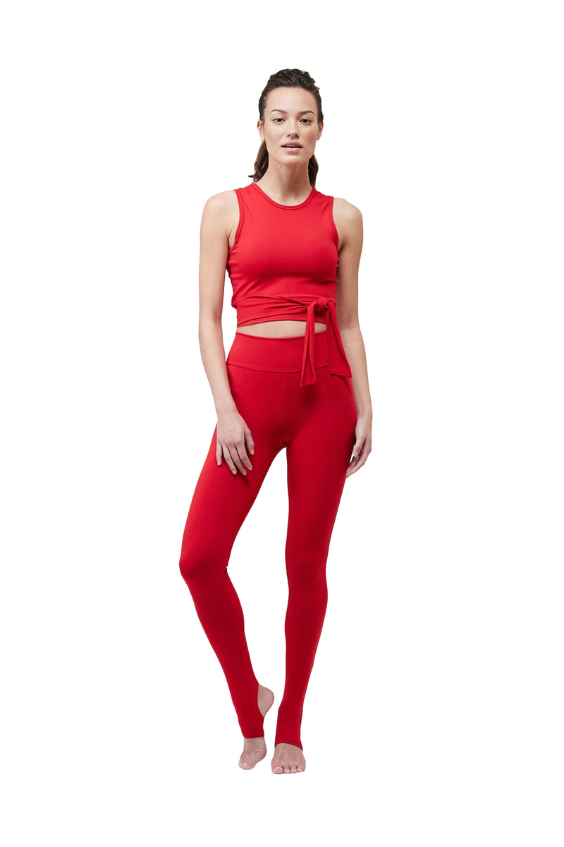 Tango Red Ballet Legging by Live The Process