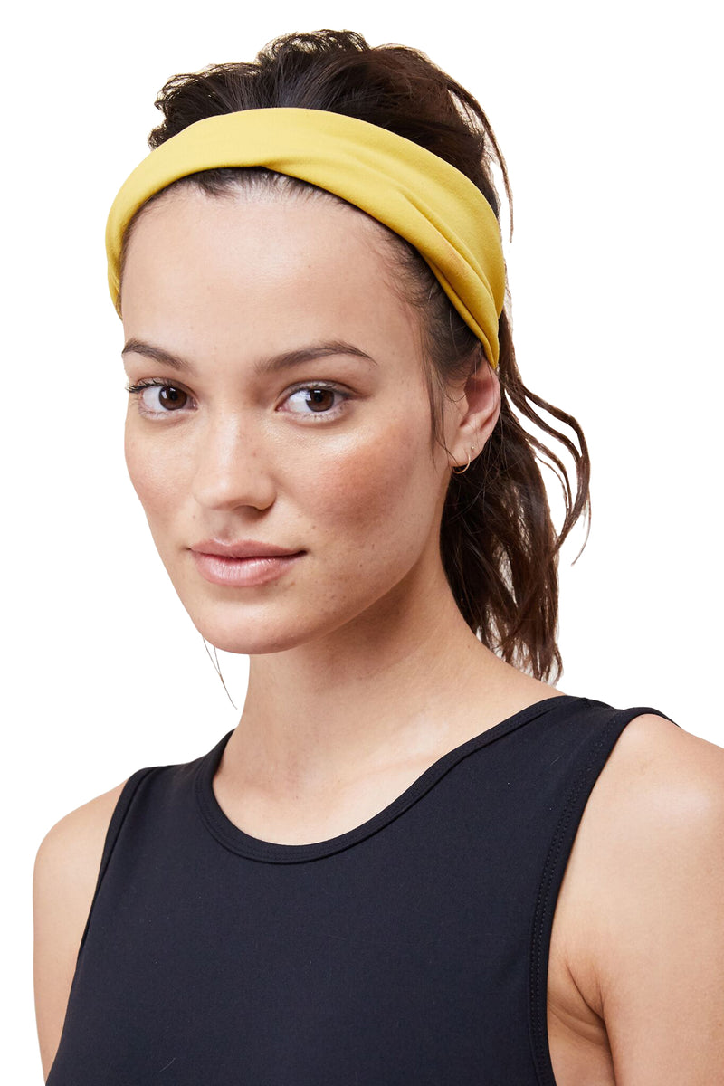 Spicy Mustard Headband by Live The Process