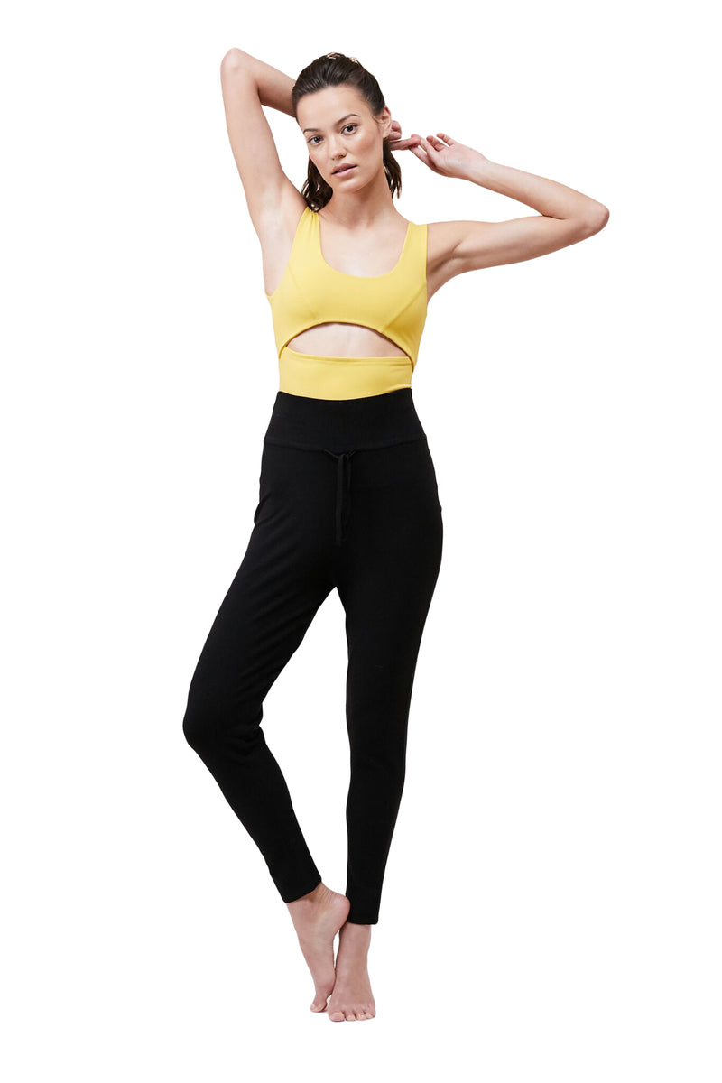 Black High Waisted Pant by Live The Process