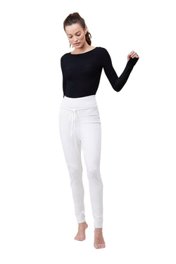 White High Waisted Pant by Live The Process