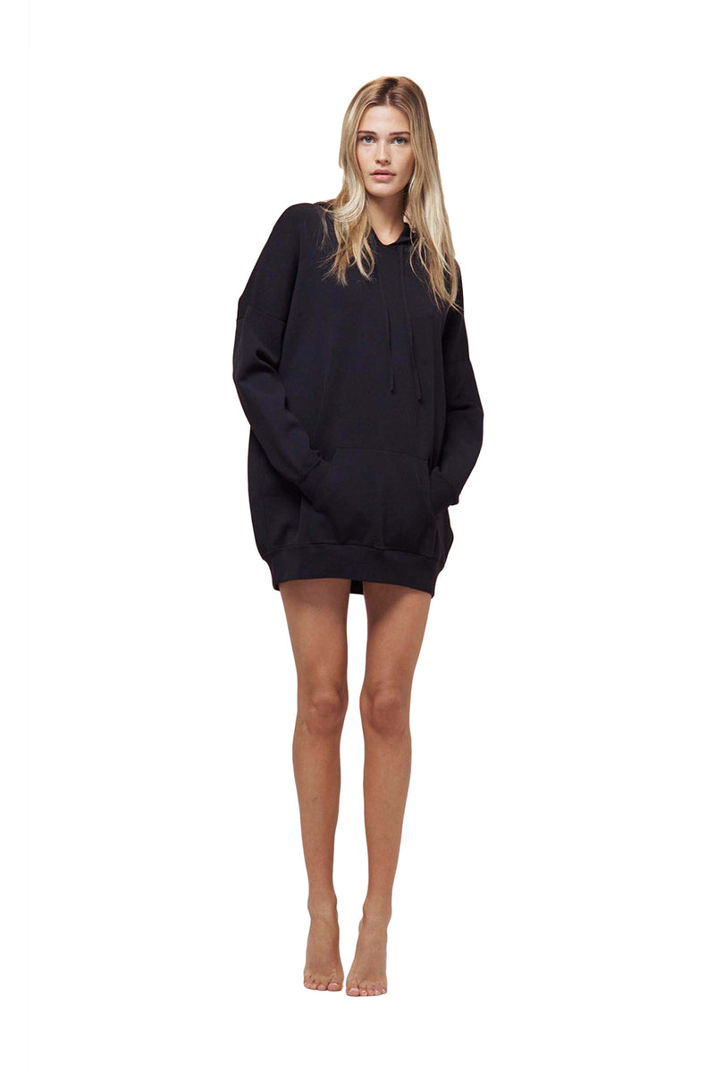 Black Oversize Hoodie by Live The Process