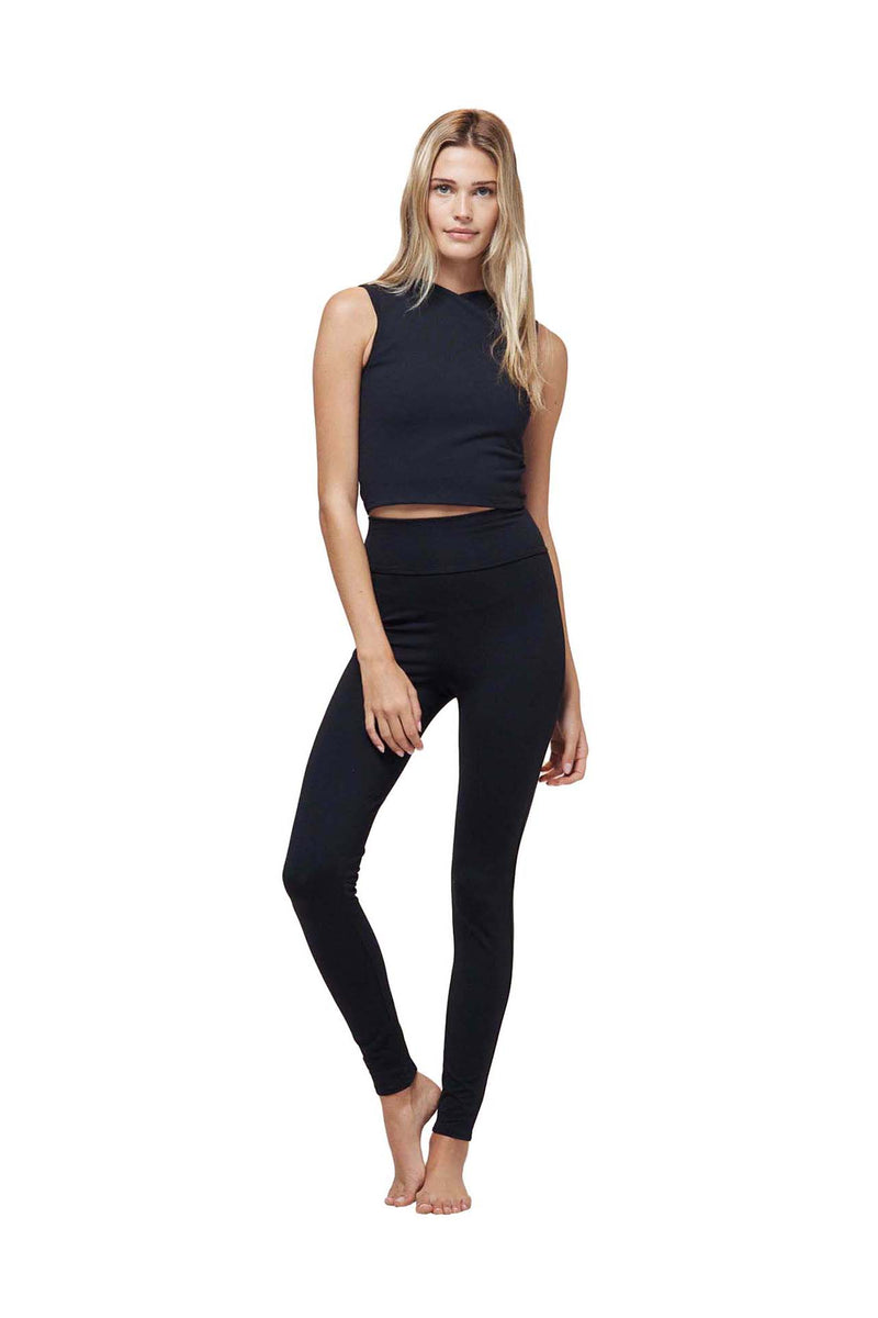 Black Tuxedo Legging by Live The Process