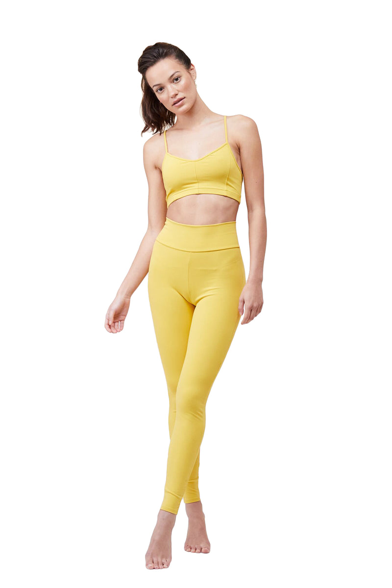Spicy Mustard Tuxedo Legging by Live The Process