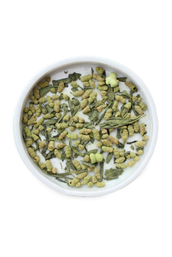 Matcha Genmaicha by Leaves and Flowers