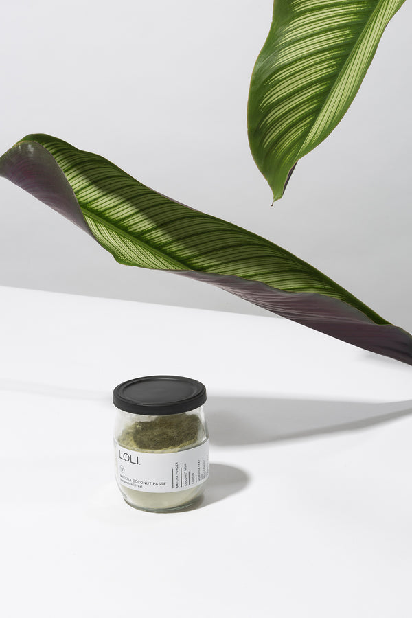 Matcha Coconut Paste