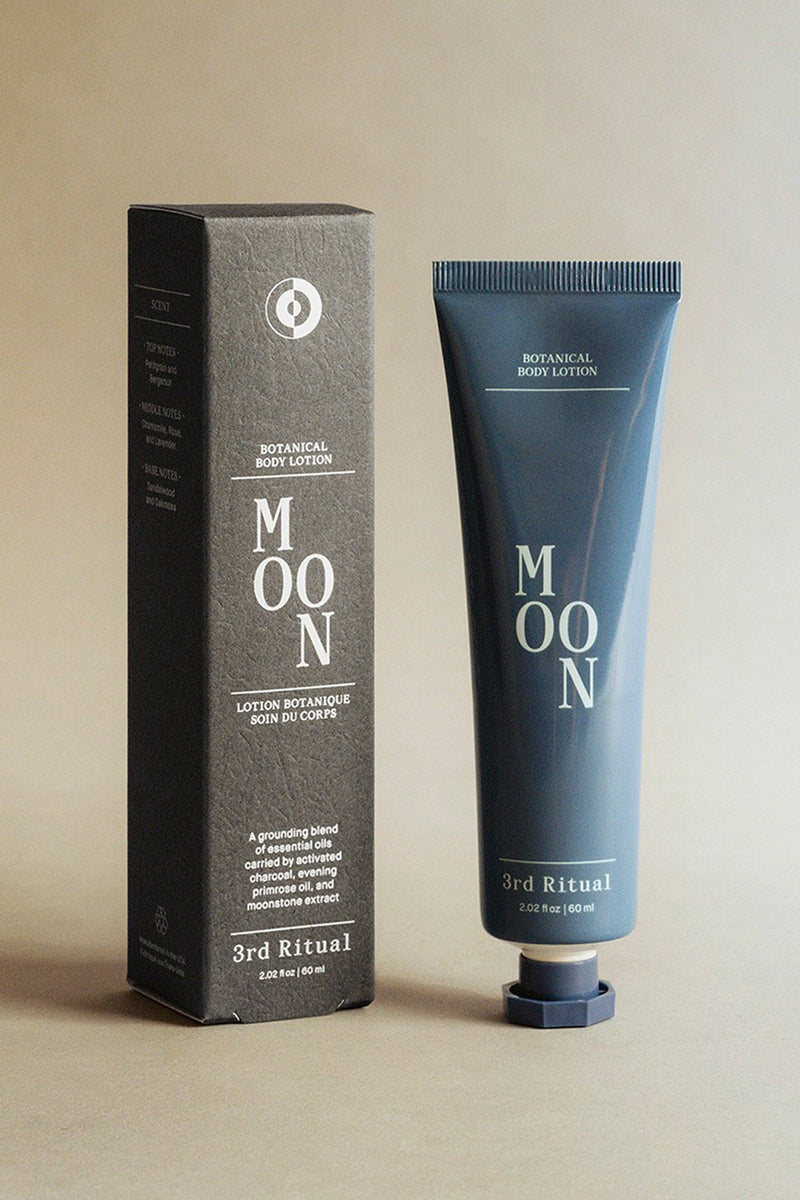 MOON, botanical body lotion | 3rd Ritual