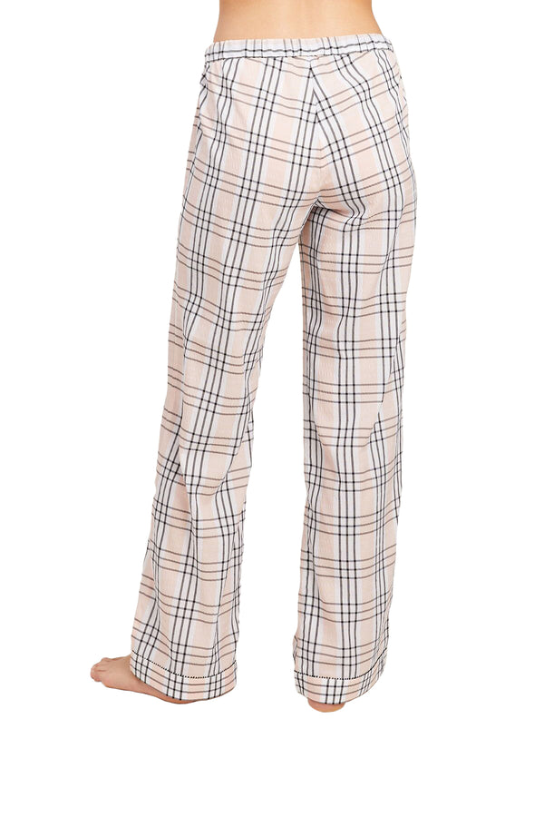 Plaid Chantal Pant by Morgan Lane