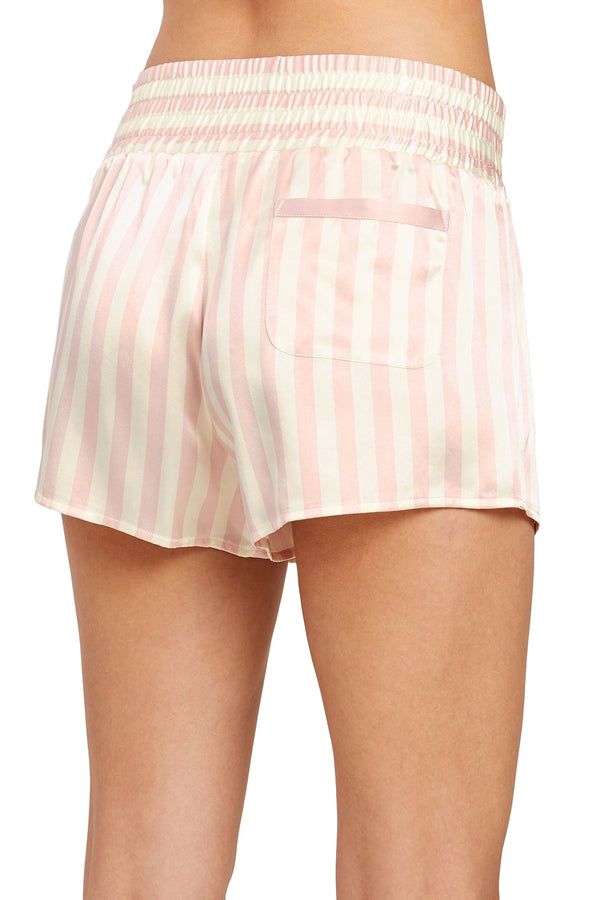 Pink and white striped Corey Short by Morgan Lane