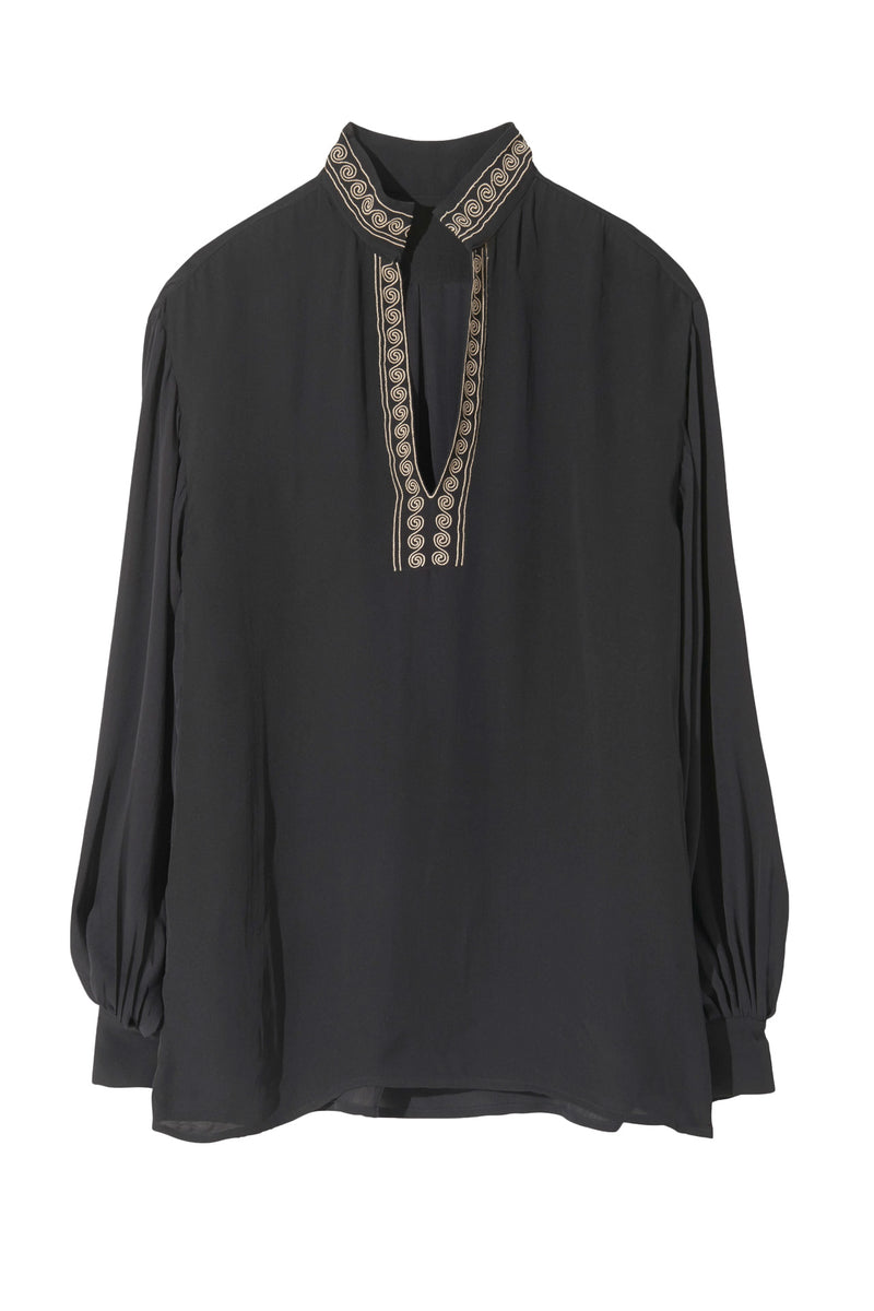 Moroccan Embroidered Joey Top