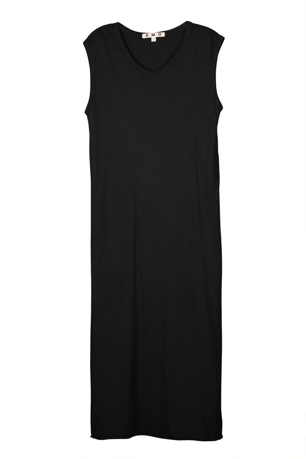 Muscle Tank Dress in Vintage Black | A M O