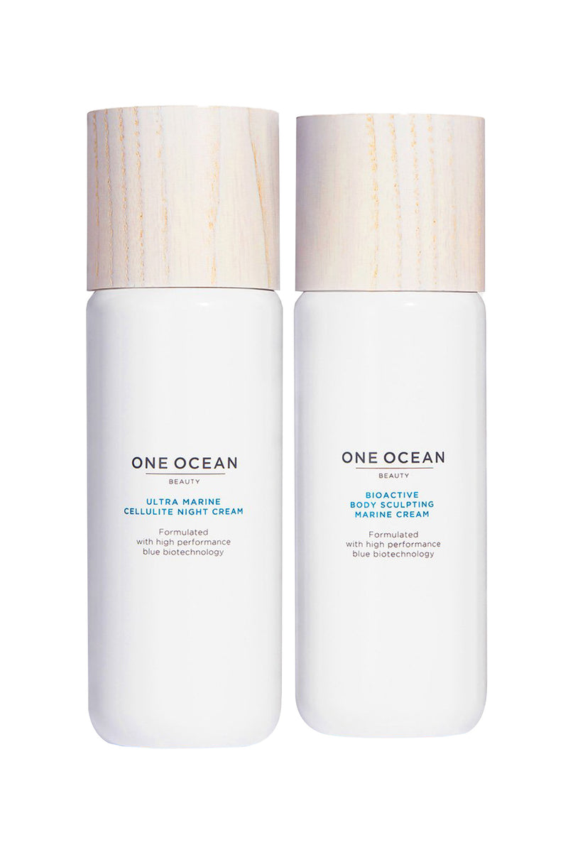 Body Wellness Kit, Night Cream and Marine Cream | One Ocean Beauty