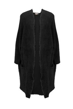 Black Poodle Coat by DONNI