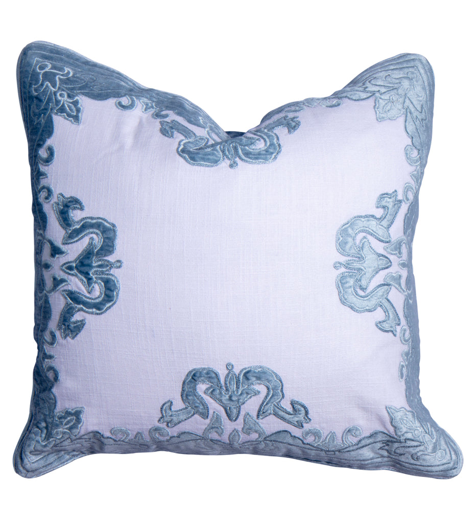 Chateau luxury velvet pillow cover