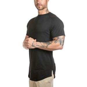 Mens Slim Fitted Gym Athletic Muscle T-Shirt - FreshFitForGuys