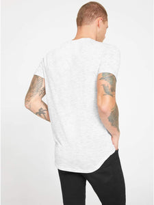 G by GUESS Men's Heathered Knit Pocket Longline Tee - FreshFitForGuys
