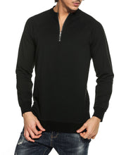 Men's Long Sleeve Pullover Crewneck Cotton Sweatshirt - FreshFitForGuys