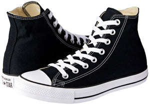 Converse Chuck Taylor All Star Hi Top Black - FreshFitForGuys