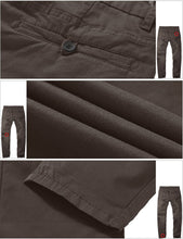 Match Men's Fit Tapered Stretchy Casual Pants - FreshFitForGuys