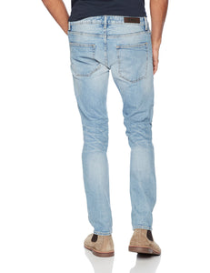 Denim Garage Classics Men's Slim-fit Stretch Jean Light Blue - FreshFitForGuys