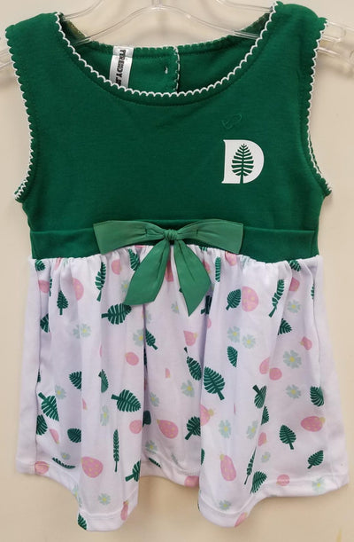 Dress with Dartmouth Pine logo & Pink Lady Bug