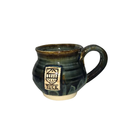 Round Tuck Pottery Mug (small)