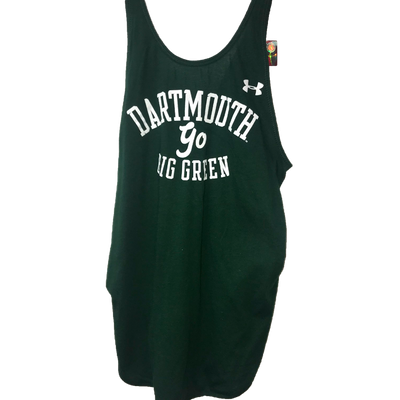 Under Armour Dartmouth Go Big Green Tank