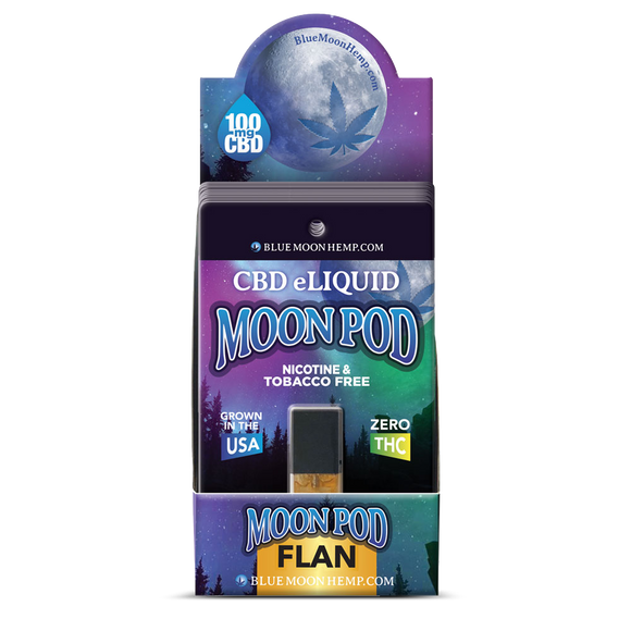 Juul Moonpod Flan 125mg 1ml Anxiety Pain Management Depression Nausea