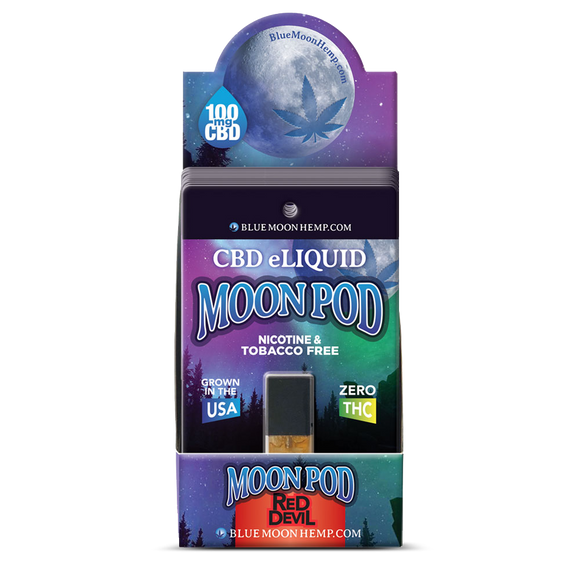 Juul Moonpod BERRY, FLAN, KUSH 125mg 1ml Anxiety Pain Management Depression Nausea