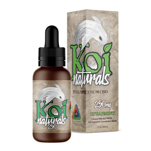 KOI Natural 250mg Spearmint Full Spectrum Great Flavors Anxiety Pain Relief
