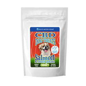 Pet Dog Treat 100mg Salmon Sweet Potato Pain Relief Anxiety Arthritis