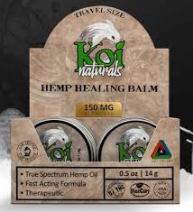 KOI Healing Balm 150mg .5oz Pain Relief Arthritis Nerve Pain Travel  Anti-Inflamatory