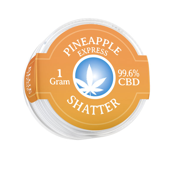 Shatter 996mg 1gr Cannabidiol Pain Relief Pinneapple Organic Quality Anxiety