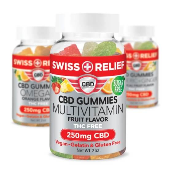 Gummies 250mg  Anti-Inflammatory Pain Relief Arthritis Anxiety PTSD Multi-Vitamin