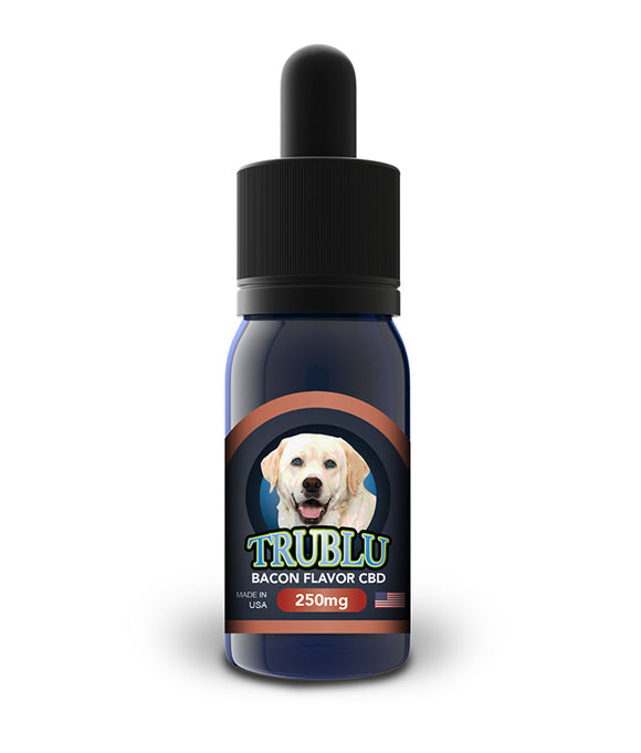 Tru Blu Pet Dog 1000mg Hemp Oil Quality Anxiety Pain Relief Bacon Flavor