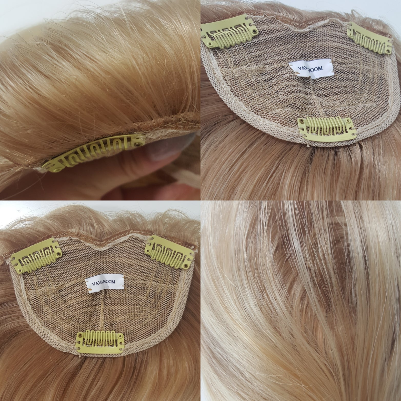 Va Va boom crown volumiser. Hair topper for adding volume to thin hair and disguising hair loss in women