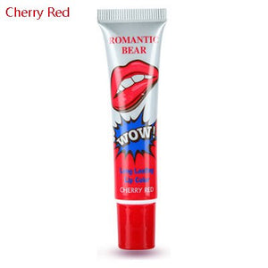 Romantic bear pomade Peel-off Waterproof long lasting Lip Gloss tint baton eosed balm lipsticks Long Lasting Makeup wow lips x1 - Vipbeautycompany.com