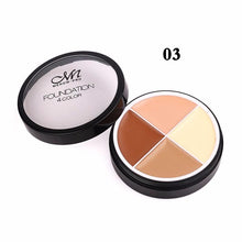Load image into Gallery viewer, Menow 4 Colors Brand Makeup Face Concealer Cream Long Lasting Waterproof Camouflage Concealer - Vipbeautycompany.com