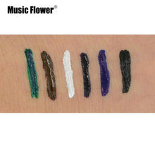 Load image into Gallery viewer, Music Flower Waterproof Liquid Eyeliner Pencil Lollipop Shape 24HR Long Lasting Eye Liner Pen Cosmetics Eye Makeup Set - Vipbeautycompany.com