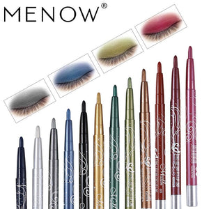 Menow Makeup set 12Color/kit Waterproof Eye shadow Pencil Rotate Eyeliner Long-lasting Eyeliner Cosmetics maquiagem P10001 - Vipbeautycompany.com