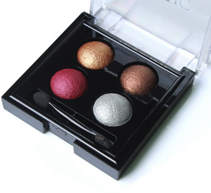 IMAGIC Professional Eyes Makeup Pigment Eyeshadow 4 Colors Waterproof Eye Shadow Palette With brushes Beauty - Vipbeautycompany.com