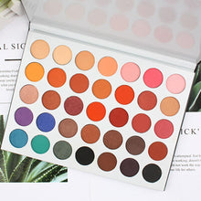 Load image into Gallery viewer, New Colors Powder Cosmetic Palette Eyeshadow Shadow 35 Matte Make Women Black ABS Up Pink 355g Eye - Vipbeautycompany.com