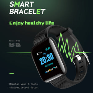 2019 Smart Watch Men Heart Rate Monitor Fitness Tracker Waterproof Touch Screen Smartwatch Women Watch Sport For Android IOS - Vipbeautycompany.com