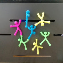 Load image into Gallery viewer, 10PCS/set Soft plastic magnet Cartoon climbing wall doll Child DIY educational toy Venting doll - Vipbeautycompany.com