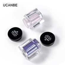 Load image into Gallery viewer, UCANBE Glitter Eye Shadow 8 Colors Loose Powder Pigments Diamond Shine Eyeshadow Waterproof Makeup Metallic Crystal Nude Powder - Vipbeautycompany.com
